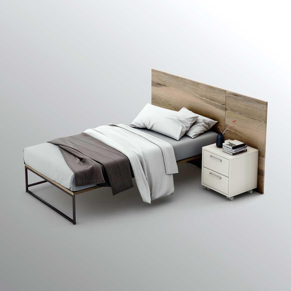 Nuevas medidas olut cama 140 cm pata 46 cm olut - Cama estilo nordico ...