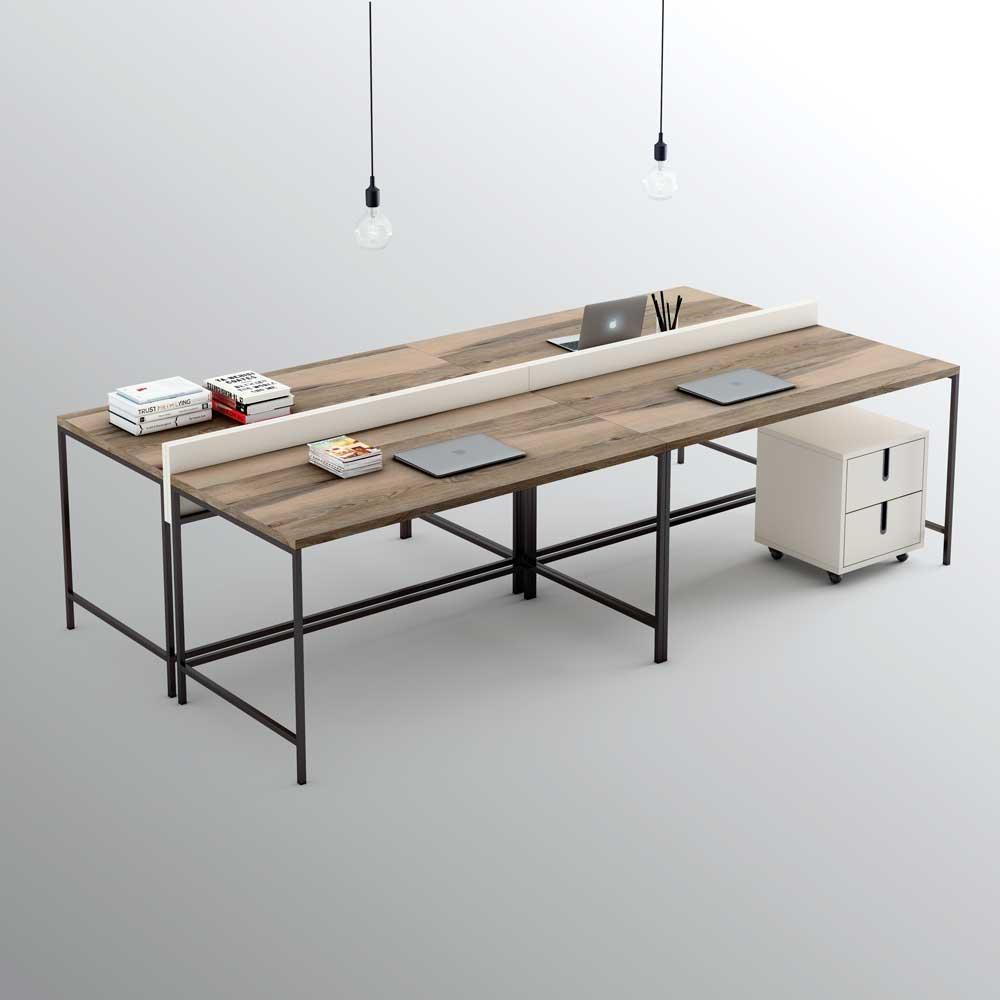 Olut pieza three la mesa de estudio - Mesa camilla rectangular leroy merlin ...