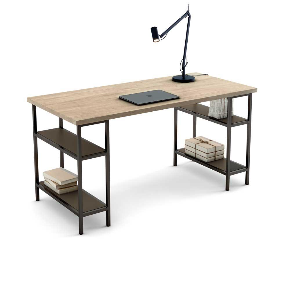 Caballetes de madera para escritorio este cruce entre - Mesa camilla redonda leroy merlin ...