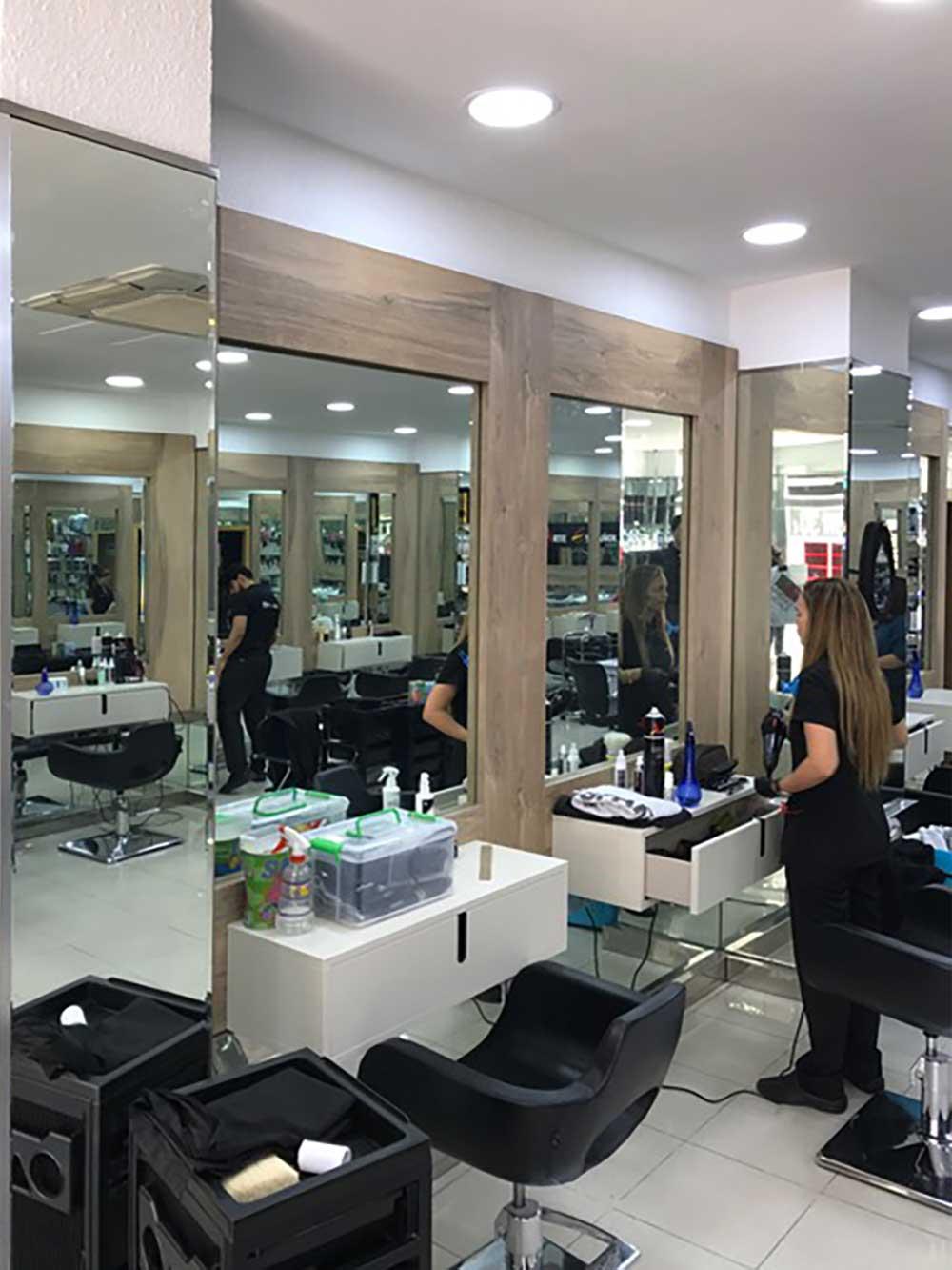 Digar kiona proyecta una peluqueria con piezas olut olut - Estilos de interiorismo ...