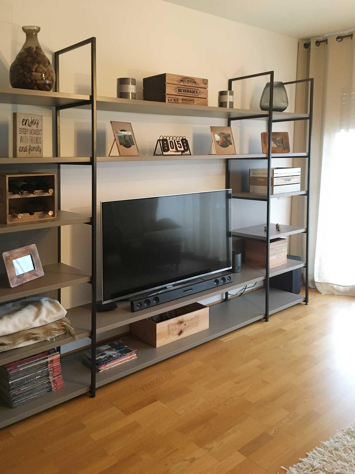 Hogares olut estanter a olut en casa de mali en sabadell - Estanterias metalicas para libros ...