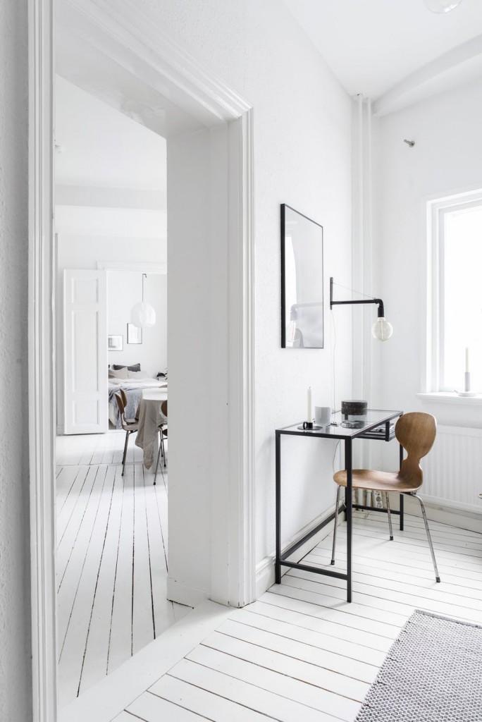 Las piezas claves de estilo n rdico para un piso peque o - Colores nordicos ...